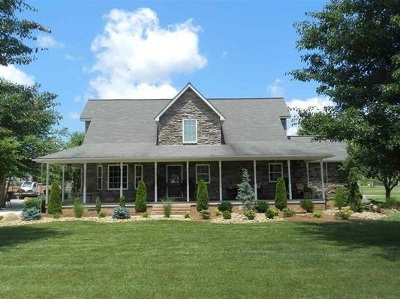 Carter County Single Family Home Active-Back On Market: 273 Riverbend Way