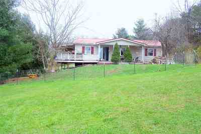 Carter County Single Family Home Active-Back On Market: 55 Tackett Lane