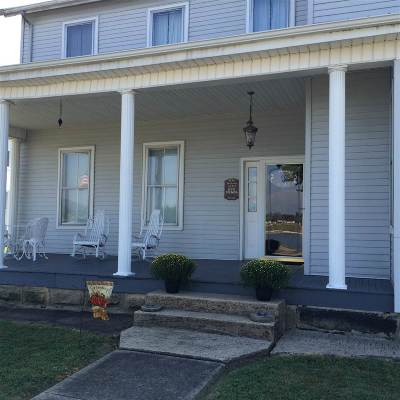Greenup Single Family Home For Sale: 500 Waterfront