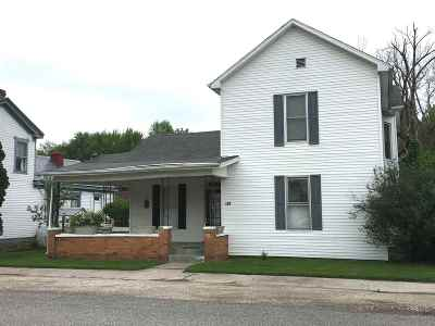 Greenup Single Family Home For Sale: 208 Main
