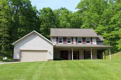 Greenup Single Family Home For Sale: 587 Wolfpen Hollow