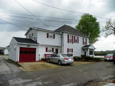 Greenup County Single Family Home For Sale: 101 Riverside Drive