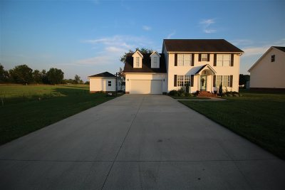 Greenup Single Family Home For Sale: 100 Allies