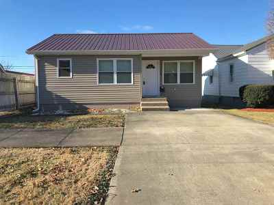 Ironton Single Family Home For Sale: 2410 S 10th