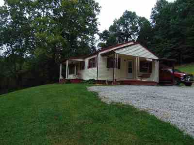 Carter County Single Family Home Active-Back On Market: 8317 West Us 60