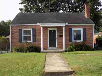 Ashland Single Family Home For Sale: 3412 Euclid