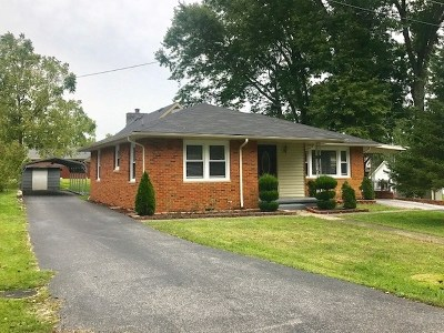 Carter County Single Family Home Active-Back On Market: 210 Shady Lane