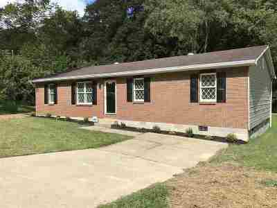 Ashland Single Family Home For Sale: 2945 Moore Hollow Rd