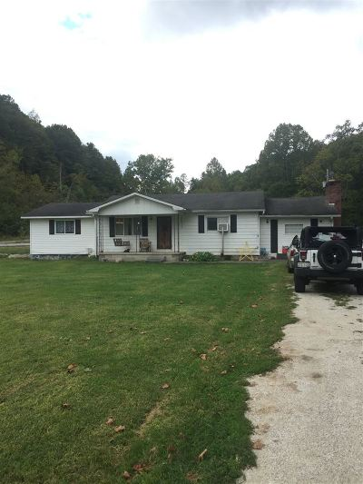 Greenup County Single Family Home For Sale: 24966 State Route 7