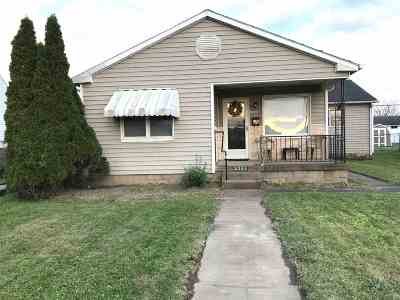 Ironton Single Family Home For Sale: 2833 S 9th Street