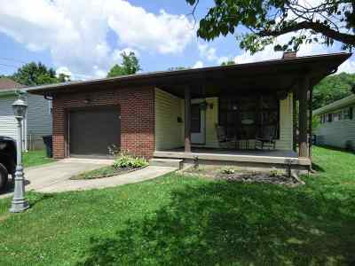 Ironton Single Family Home For Sale: 1605 S 11th Street