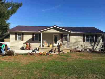 Greenup Single Family Home For Sale: 19801 State Route 7