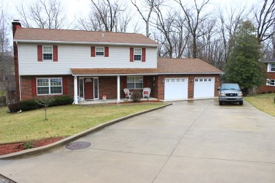 Russell Single Family Home For Sale: 1008 Belhaven Drve