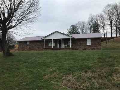 Greenup County Single Family Home For Sale: 251 Fisher Creek Rd