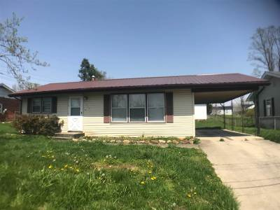 Greenup County Single Family Home For Sale: 1505 Clark Street