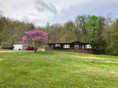 Catlettsburg Single Family Home For Sale: 10000 Durbin Road
