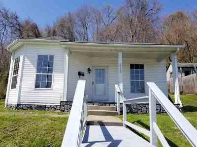 Catlettsburg Single Family Home For Sale: 1450 Center Street