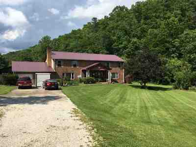Greenup County Single Family Home For Sale: 439 Mudlick Road