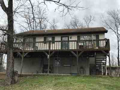 Lawrence County Single Family Home For Sale: 1745 Adams Fork Road