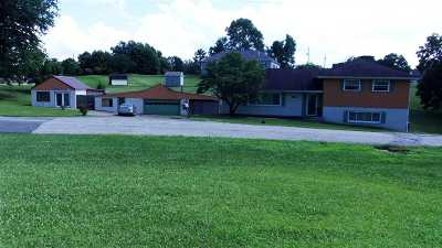 Greenup County Single Family Home For Sale: 500 Cherokee Road