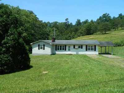 Carter County Single Family Home For Sale: 1100 State Highway 1661