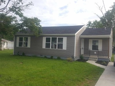 Greenup County Single Family Home For Sale: 1007 Pine Street