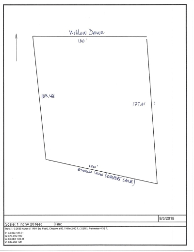 Ashland Residential Lots & Land For Sale: 3 Willow Drive