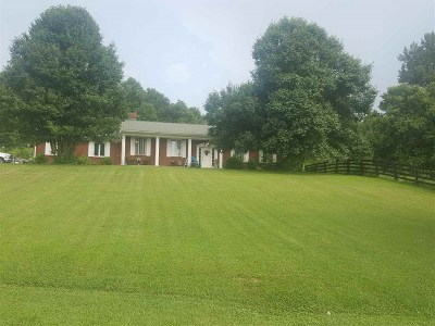 Catlettsburg Single Family Home Pending-Continue To Show: 15734 St. Rt. 3