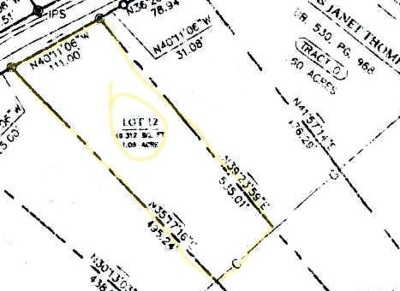 Catlettsburg Residential Lots & Land Active-Back On Market: 12 Fairlawn