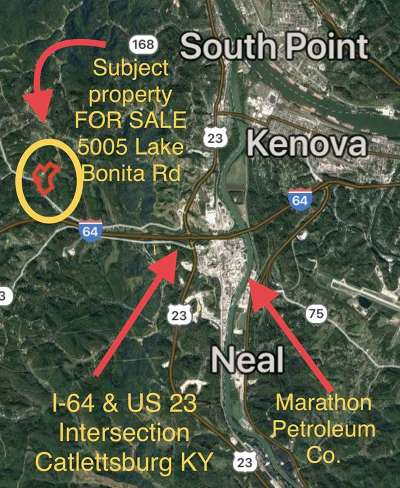 Catlettsburg Residential Lots & Land For Sale: 5005 Lake Bonita Road