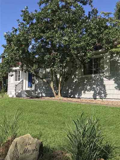 Ashland Single Family Home For Sale: 2750 Terrace Boulevard