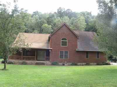 Greenup County Single Family Home For Sale: 253 Greenbriar Branch