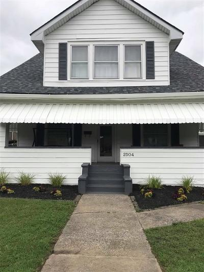 Ashland Single Family Home For Sale: 2504 Lexington Ave