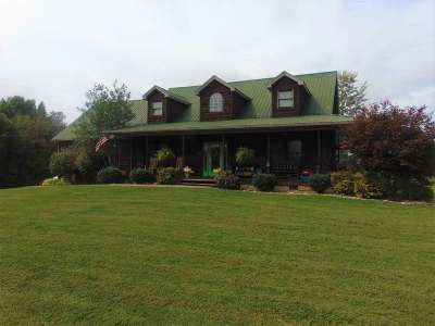 Carter County Single Family Home Active-New: 293 James Chapel Road
