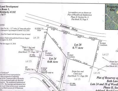 Ashland Residential Lots & Land For Sale: 24 Woodbrook Subdivision