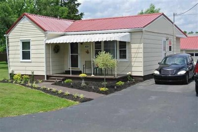 Greenup County Single Family Home For Sale: 825 Jefferson Avenue