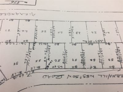 Ashland Residential Lots & Land For Sale: Lots 55-59