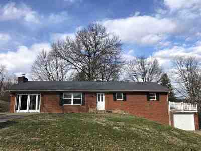 Ashland Single Family Home For Sale: 219 W Greenhills Road