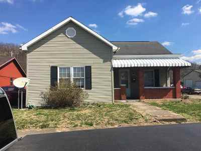 Ironton KY Single Family Home For Sale: $59,900
