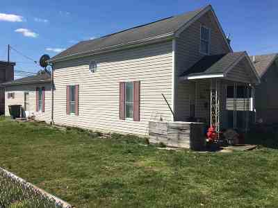 Ironton KY Single Family Home For Sale: $49,900