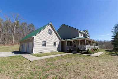 Catlettsburg Single Family Home For Sale: 3443 Shopes Creek Road
