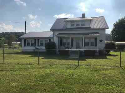 Greenup County Single Family Home For Sale: 67 Lewis Lane