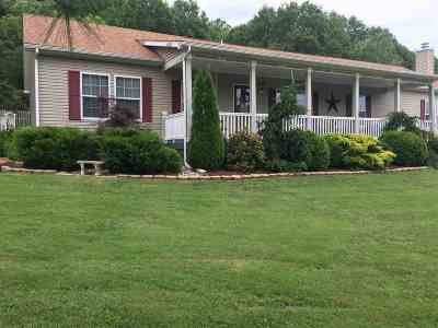 Greenup County Single Family Home For Sale: 87 Snowy Hill