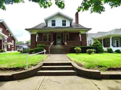 Lawrence County Single Family Home For Sale: 1820 S 6th Street