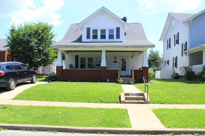 Ashland Single Family Home For Sale: 2625 Hackworth