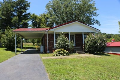 Carter County Single Family Home For Sale: 1358 Damron Branch