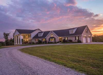 Catlettsburg Single Family Home For Sale: 5222 Dog Fork Laurel