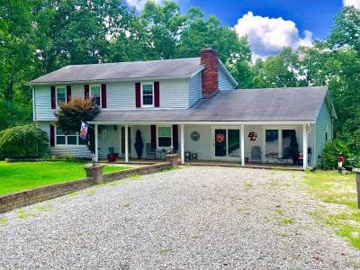 Catlettsburg Single Family Home For Sale: 4229 Timberline Drive