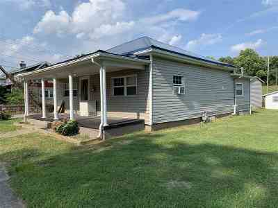 Catletsburg KY Single Family Home Pending-Continue To Show: $49,900
