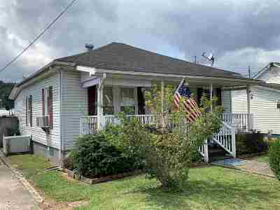 Catlettsburg KY Single Family Home For Sale: $44,900